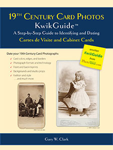 Image for 19th Century Card Photos KwikGuide