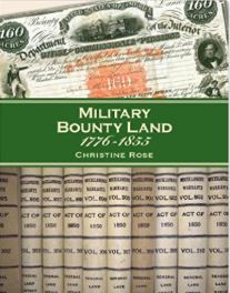 Image for Military Bounty Land 1776-1855