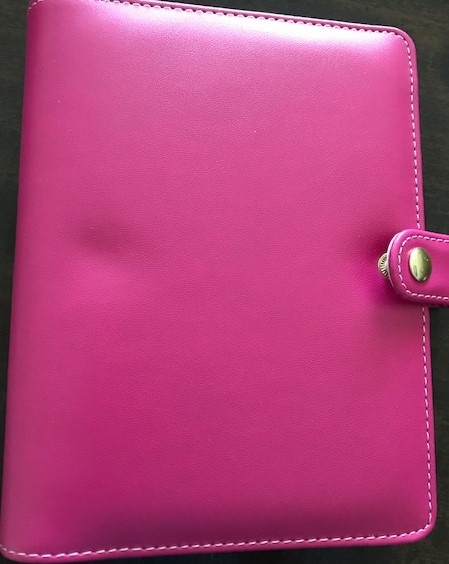Image for Hot Pink 1.5-inch, 6-ring mini binder
