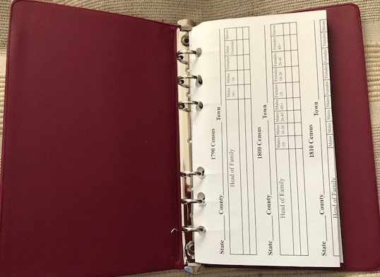 Image for Maroon 1/2-inch, 6-ring mini binder